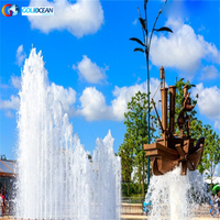 portable small Popular dancing water fountain Design