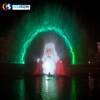 China Manufacturer Outdoor Floating Water Screen Movie Fountain