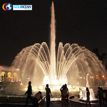 Outdoor Colorful Music Dancing Fountain Water Fountain China