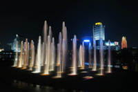 China Supply Lighted Floor Fountain