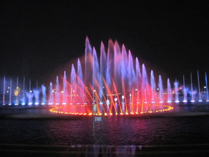 Floating Multimedia Music Dancing Fountain Show