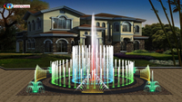 6*6m Interactive Music Dancing Floor Fountain