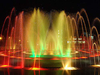 LED Lights Jumping Jet Floor Fountain