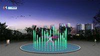Outdoor Multimedia Music Dancing Fountain