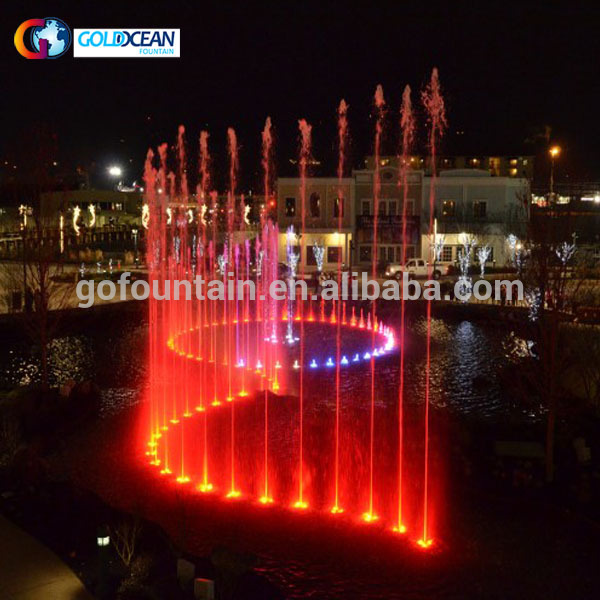 Outdoor Garden Music Fountain Water Fountain China