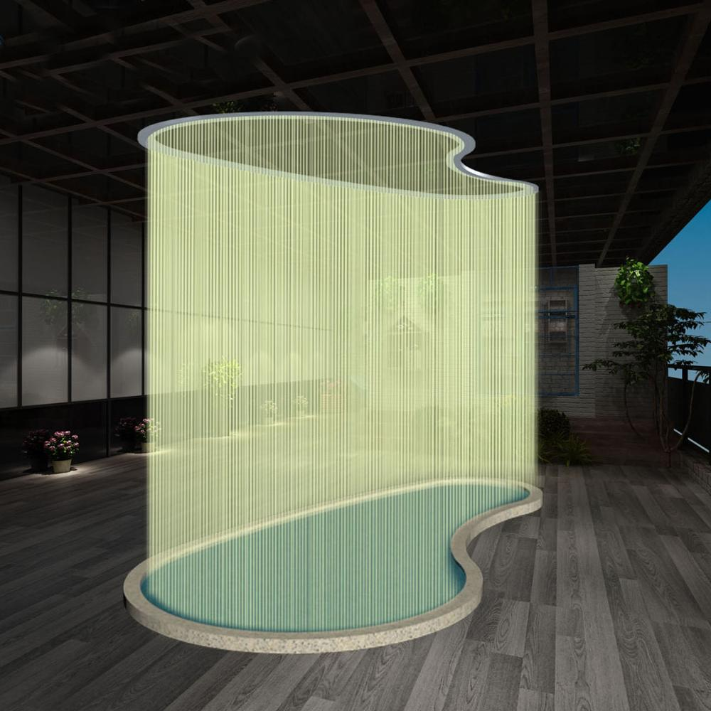 Outdoor Indoor Digital Graphic Waterfall Water Curtain China