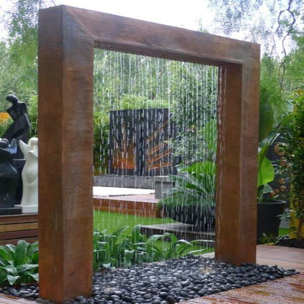Indoor Water Rain Curtain Water Wall for Decoration