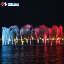 3D Digital Swing Spray Multimedia Music Fountain