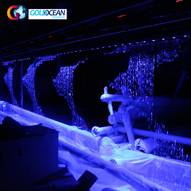Free Design 20m Length Graphical Digital Water Curtain