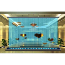 Digital Fountain Graphic Water Curtain