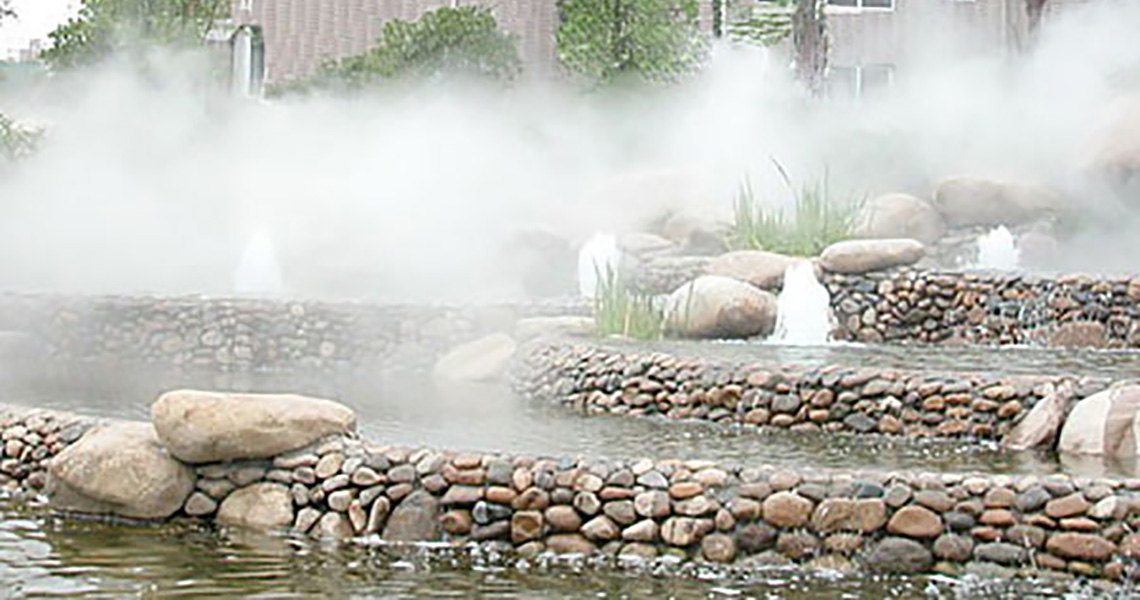 Cold Fog Fountain